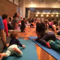 Feb 2017 Family Yoga Day at LP